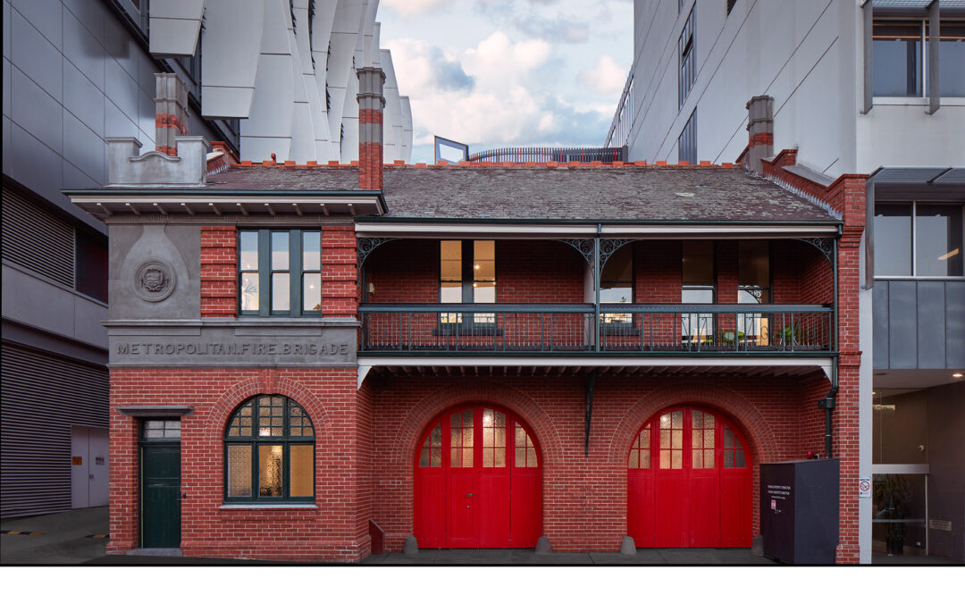 Design Factory Melbourne Moves to Renovated Fire Station