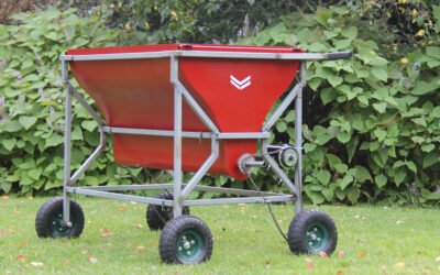 Farming tool reduces time and labour for organic farmers