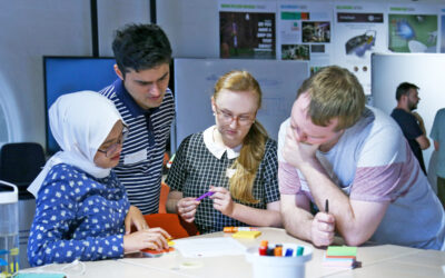 Creative Collisions: Collaboration with The Centre for Astrophysics & Supercomputing